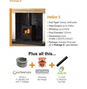 Helios 5CB Stove  Package