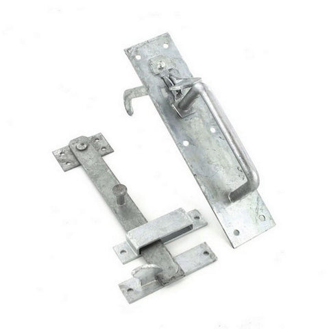 Securit  Heavy Suffolk Latch 215mm Galvanised (50/4L) - Flying Dutchman Stores