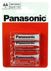 Panasonic AA Batteries 4pk - Flying Dutchman Stores