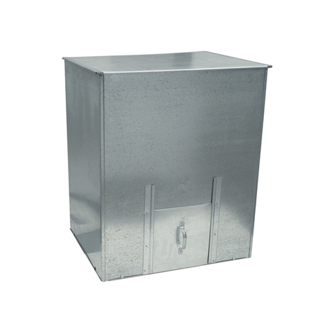 Galvanised Coal Bunker 5cwt - Flying Dutchman Stores