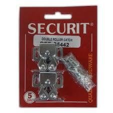 Securit Double Roller Catches Zinc Plated (1) - Flying Dutchman Stores