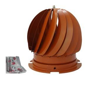 Roat Top Cowl (Terracotta Top & Base) Bolt Fit - Flying Dutchman Stores