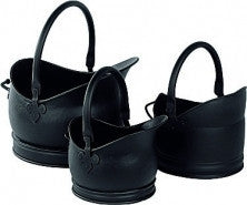 Cathedral Buckets Black (Set Of 3) - Flying Dutchman Stores