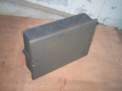 "Cast iron soot box 9"" by 6"" - Flying Dutchman Stores"