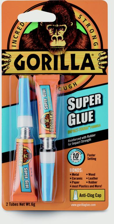 Gorilla Super Glue Twin Pack - Flying Dutchman Stores