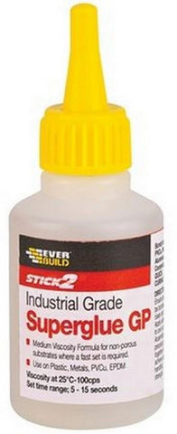 Everbuild Stick2 Industrial Grade GP Superglue - Flying Dutchman Stores