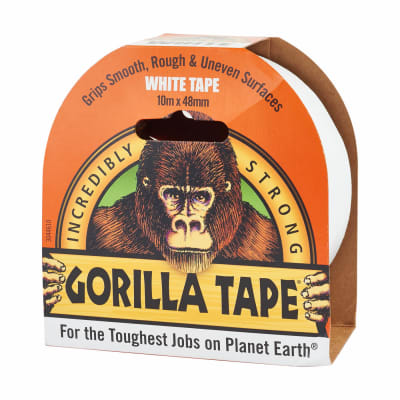 GORILLA  TAPE WHITE - Flying Dutchman Stores