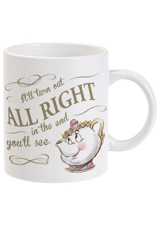 Beauty and the Beast It'll be Alright Mug