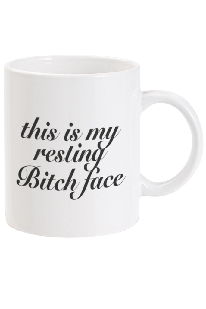 This is my resting bitch face Mug