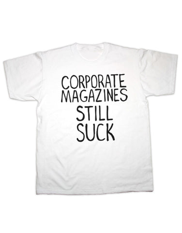 Kurt Cobain Corporate Magazines T Shirt