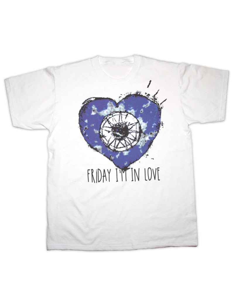 Friday i'm In Love Heart CURE T Shirt