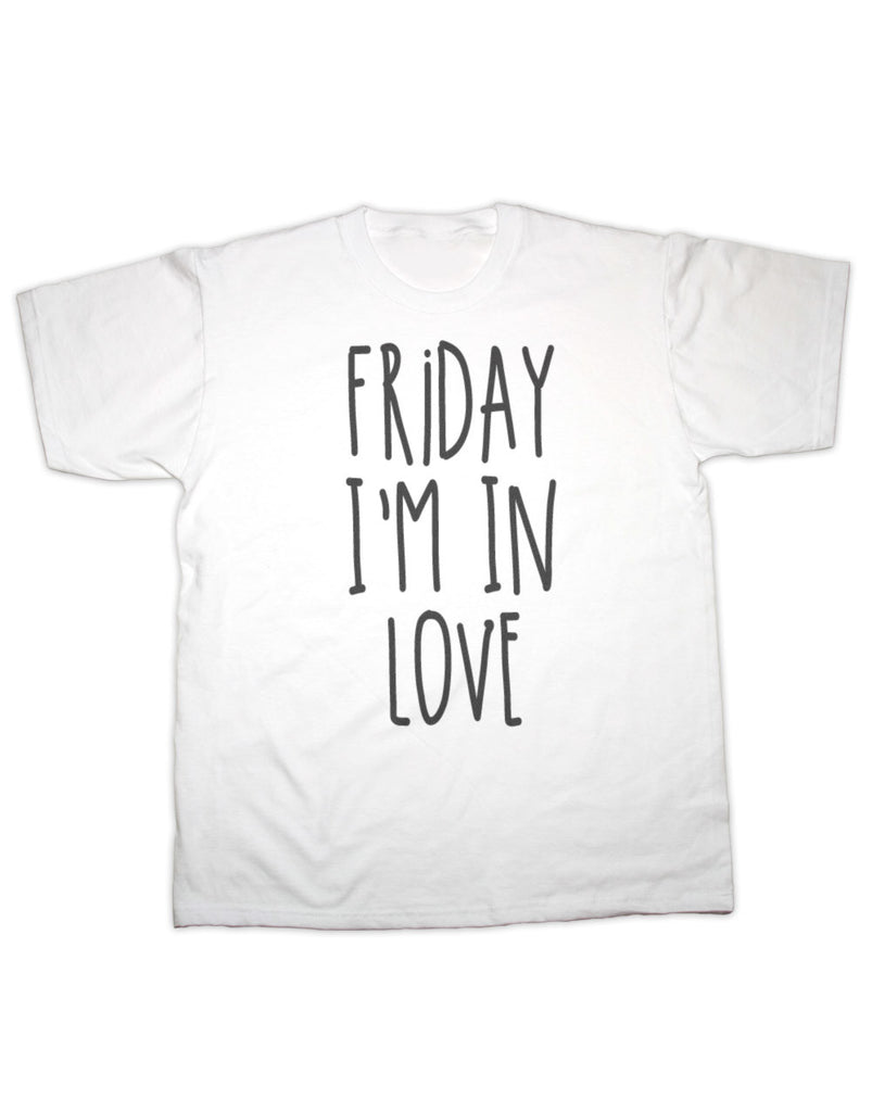 Friday I'm In Love / The Cure T Shirt