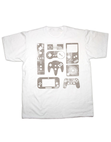 Retro Games Controllers T Shirt