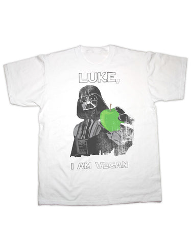 Luke I'm a Vegan Darth Vadar T Shirt