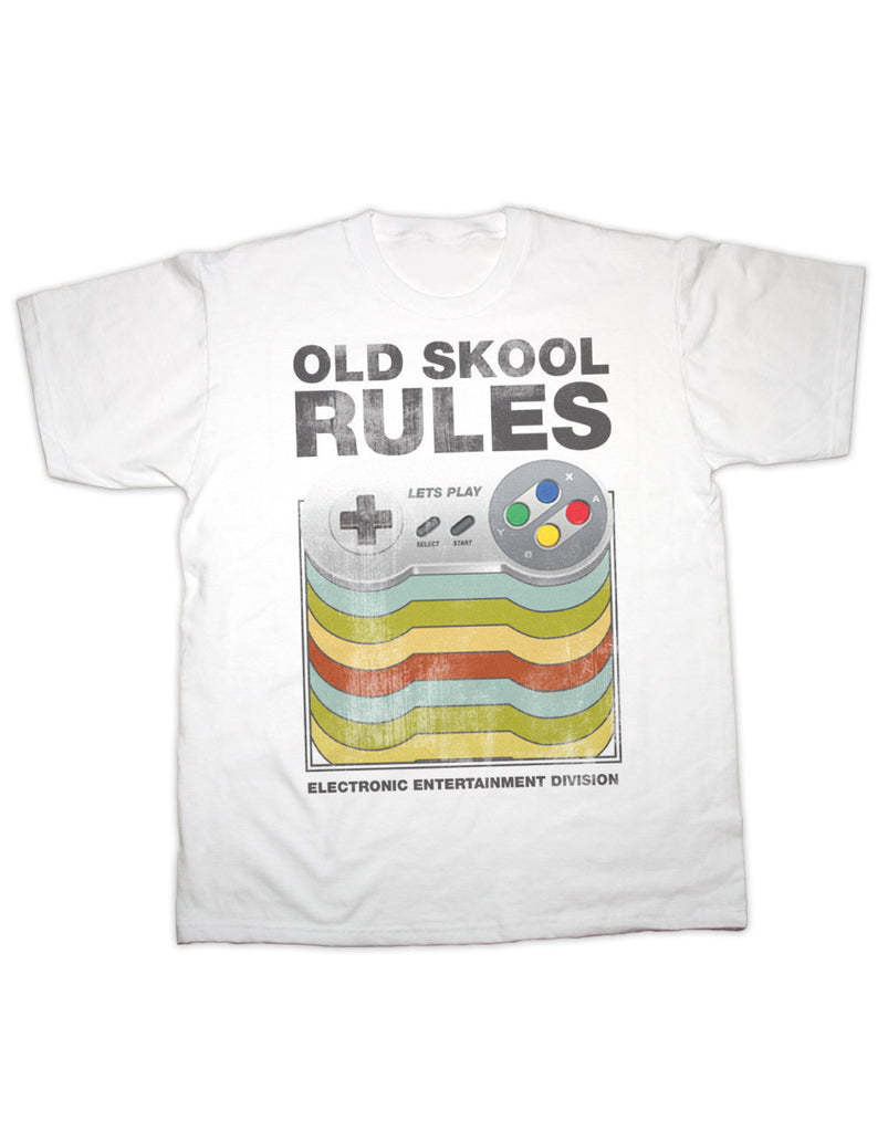 Old Skool Rules Games Controller T Shirt
