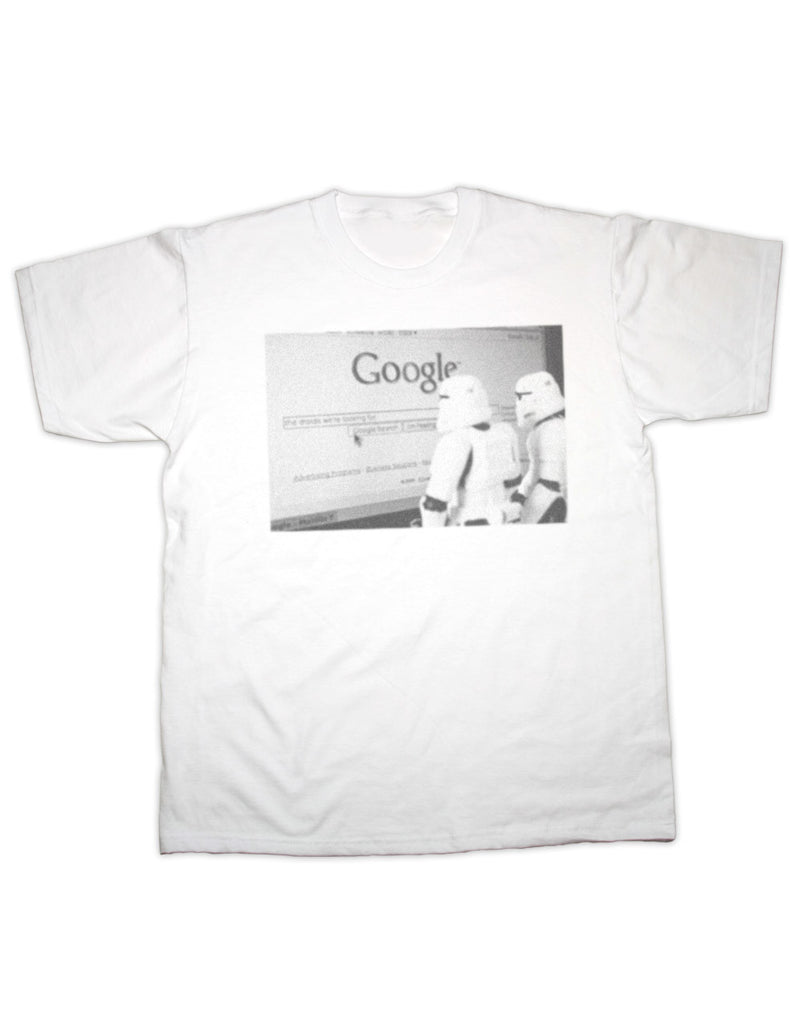 Storm Trooper Google Search T Shirt