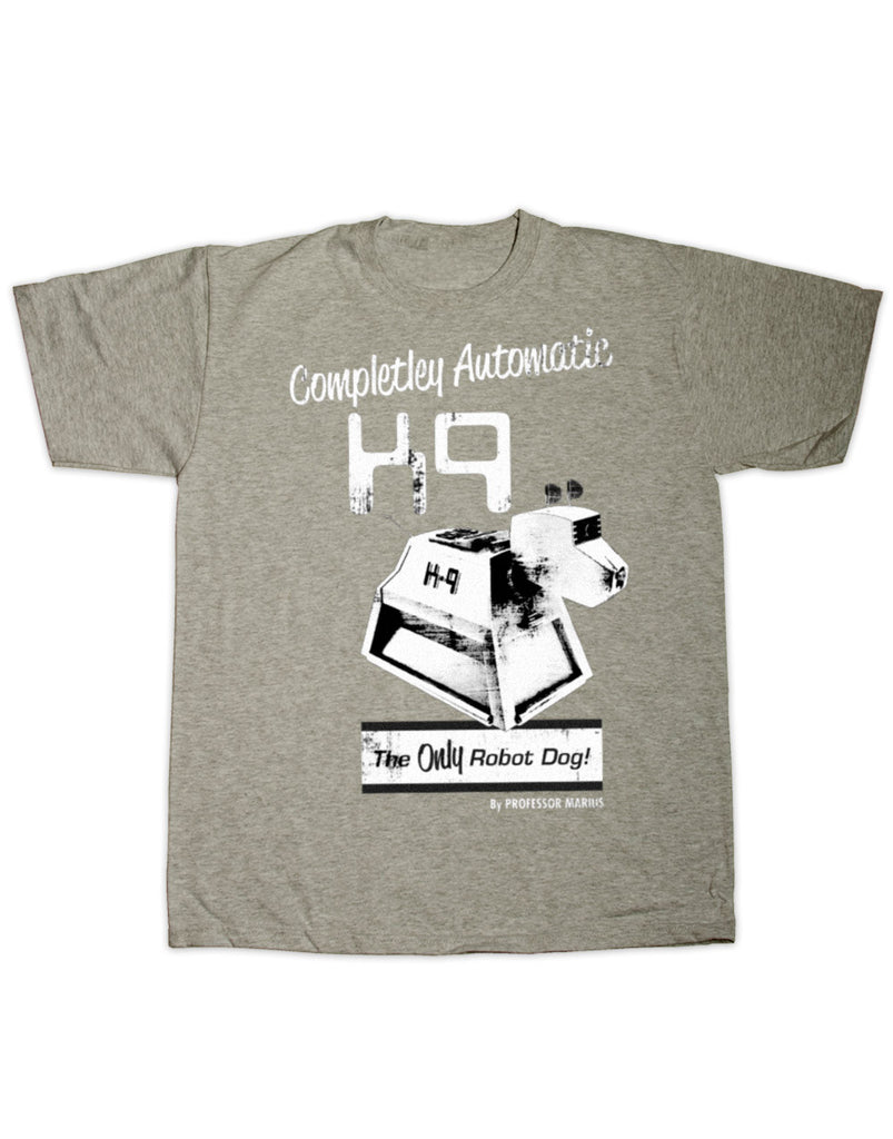 K9, Fully Automatic Doctor Who Print T Shirt