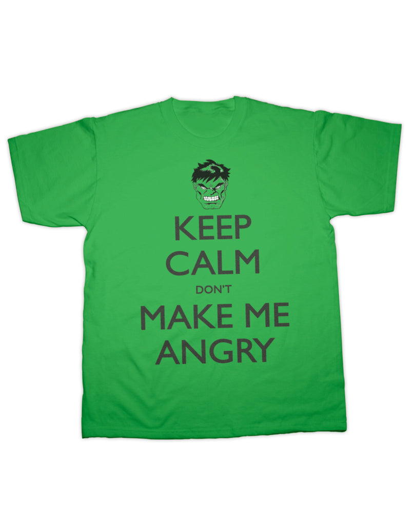 Incredible Hulk Keep Calm T Shirt
