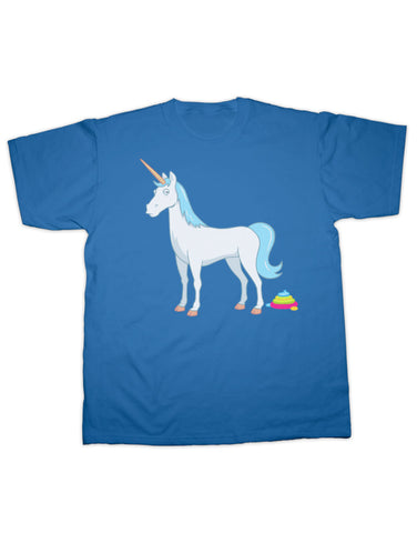 Unicorn Poo T Shirt