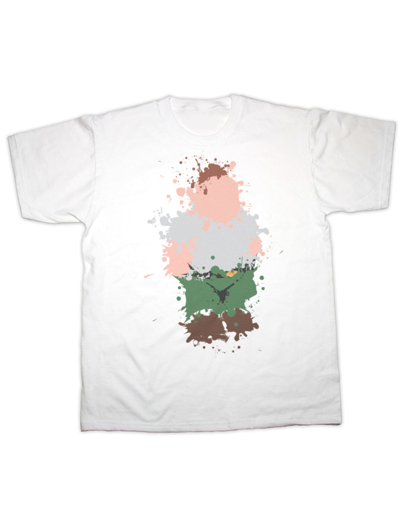 Peter Griffin Splatter Print T Shirt
