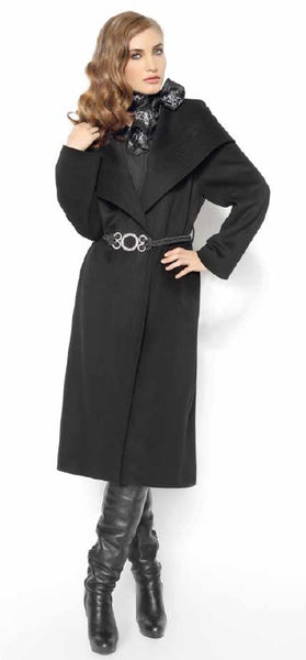 2442C Ladies' Wool Coat