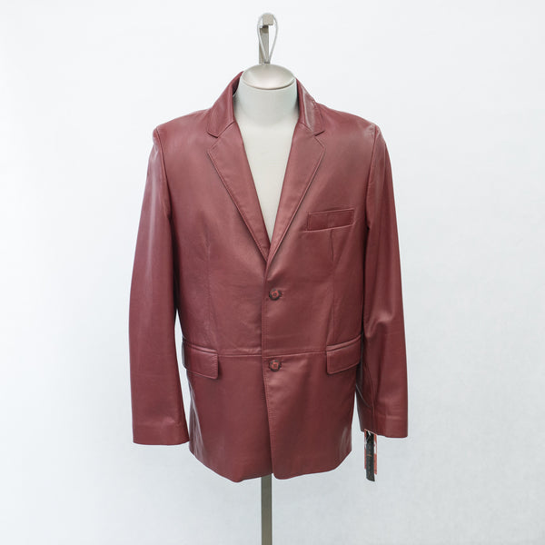 4763 Regular Fit Lambskin Blazer