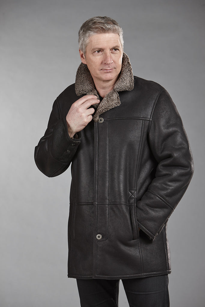 4850C Black Snowtop Sheepskin