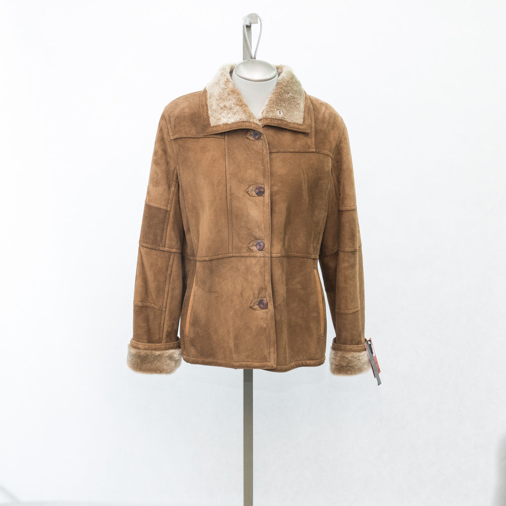 5969 Maple Glazed Shearling - Size 16