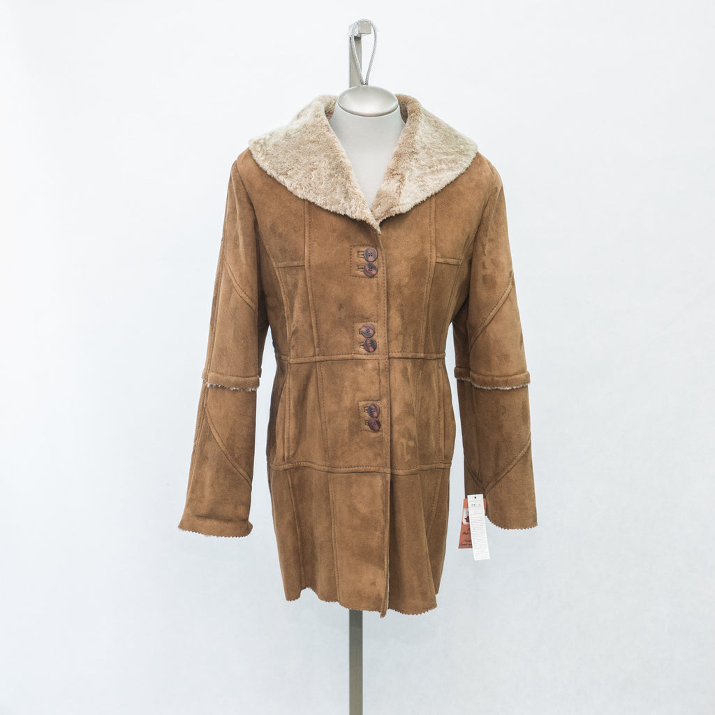 6019 Maple Glazed Shearling - Size 12