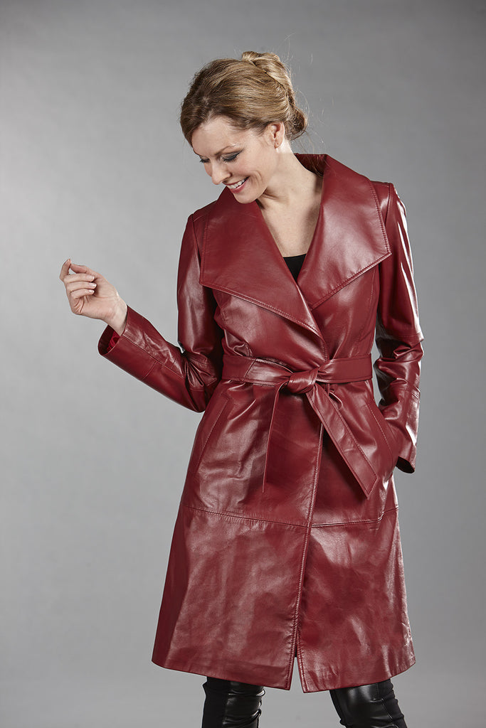 6101C New Red Lambskin - Size 6