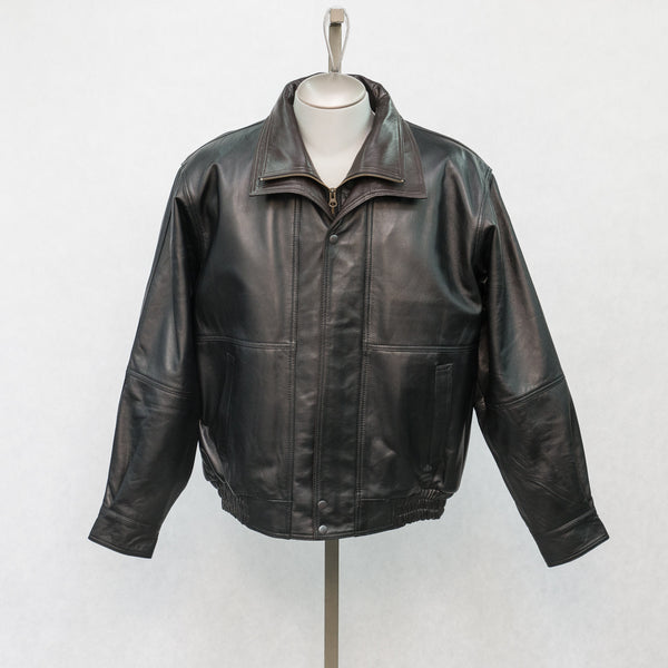8121 Black Lambskin with Brown Lambskin Trim