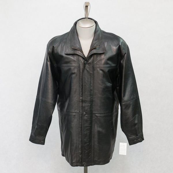 8122 Black Lambskin with Brown Lambskin Trim