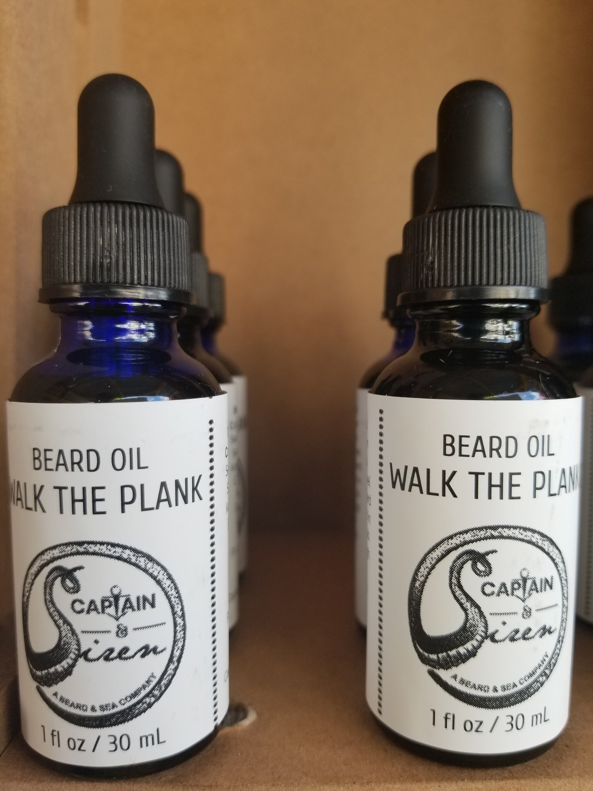Beard Oil: Walk The Plank