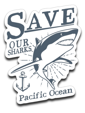 Decal: Save our Sharks