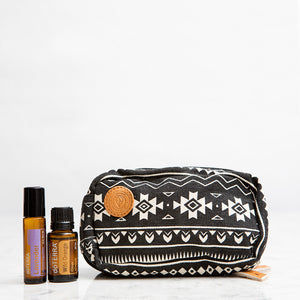 Aztec Essential Oils Travel Bag with Keychain