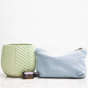 Denim Essential Oil Carrying Case