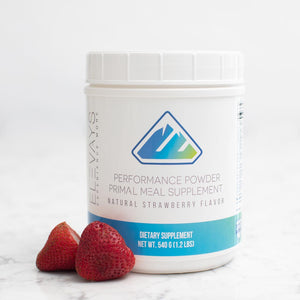 Elevays Strawberry Performance Powder