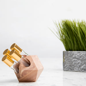 Geometric Essential Oils Roller Bottle Holder