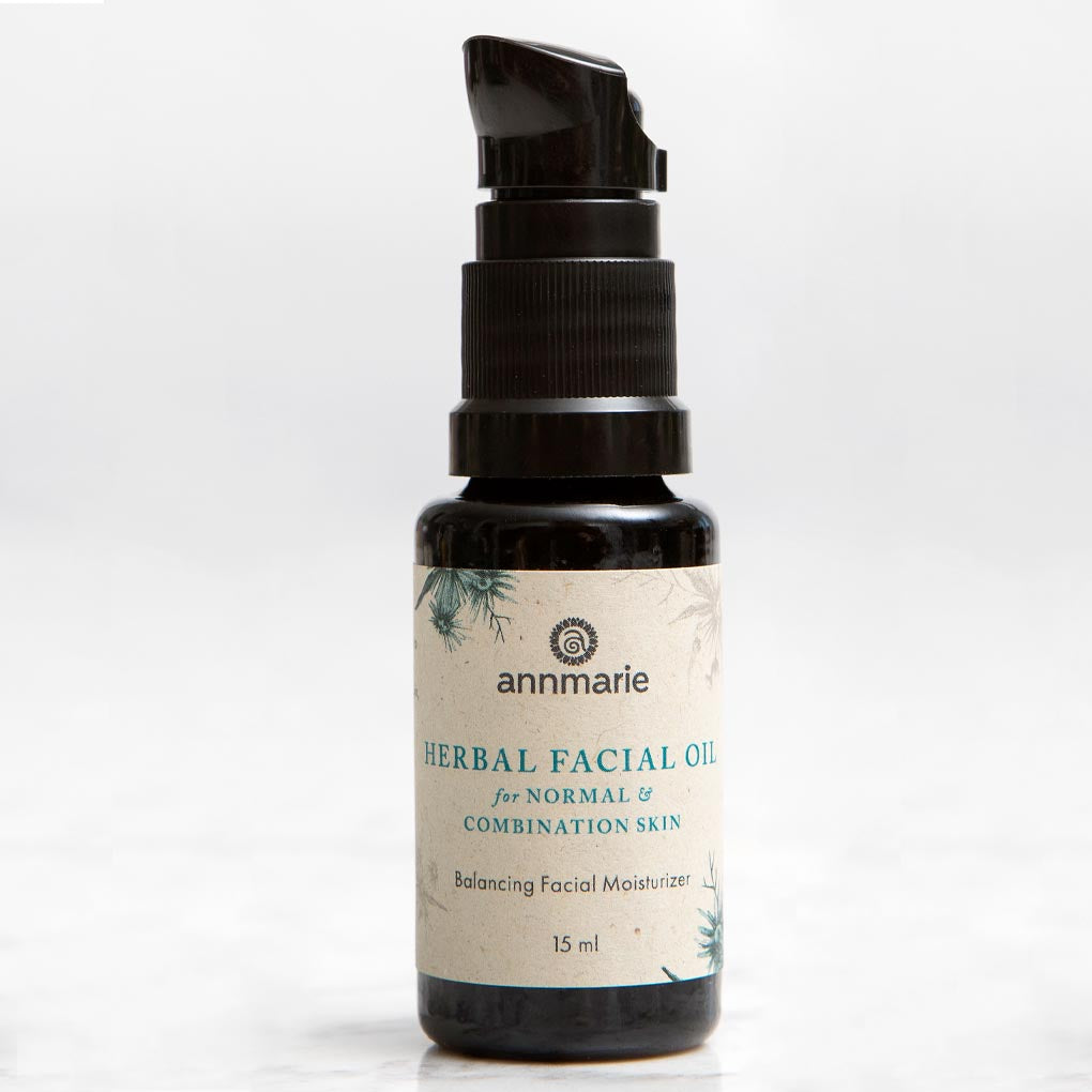 Herbal Facial Oil for Normal and Combination Skin