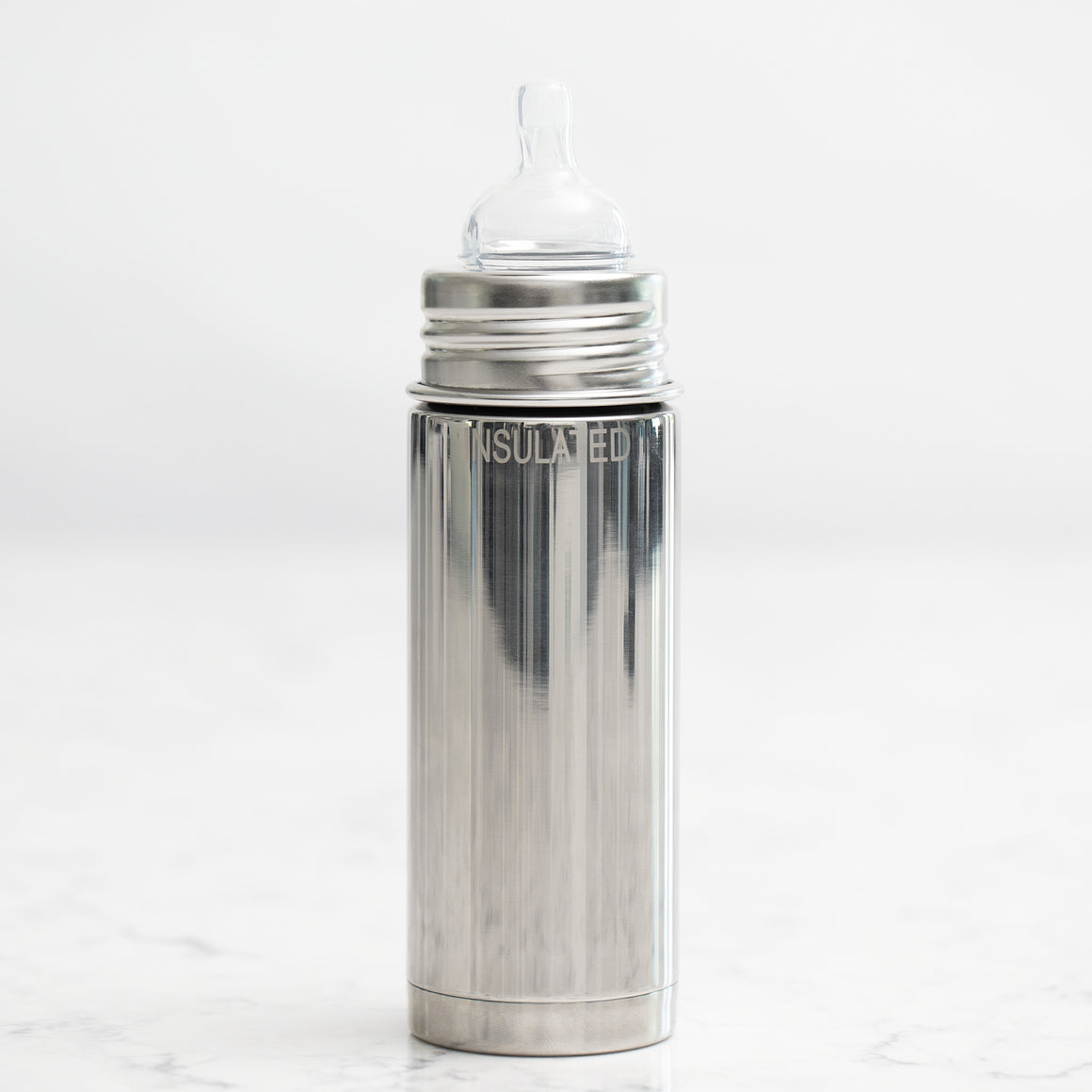 Non-Toxic Stainless Steel Baby Bottle (Insulated)