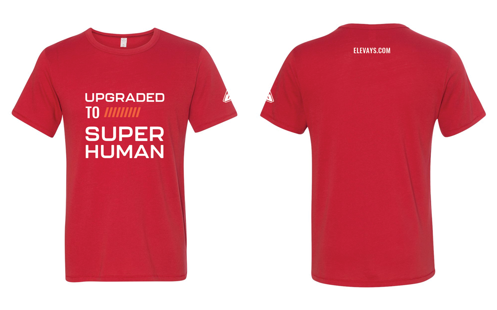 Upgraded to Superhuman (Men's T-Shirt)