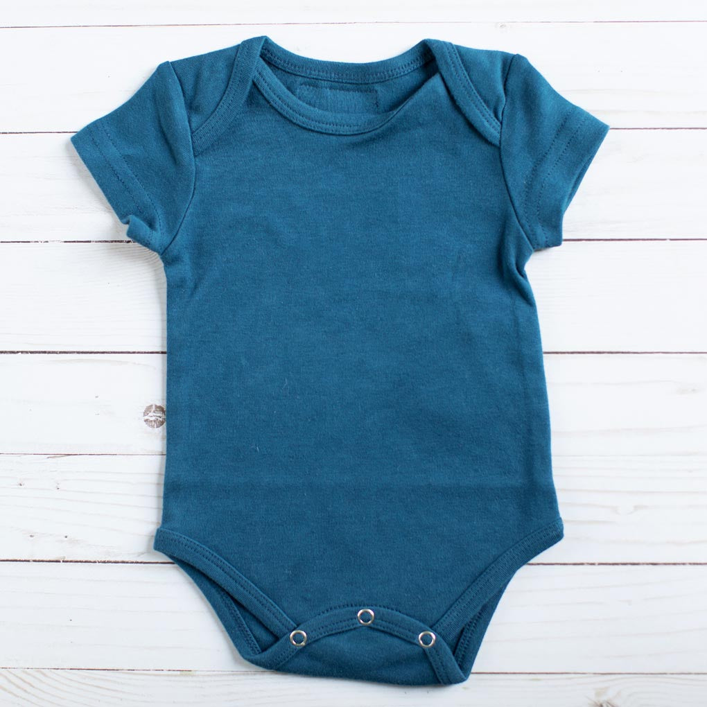Organic Onesie - Sailor Blue