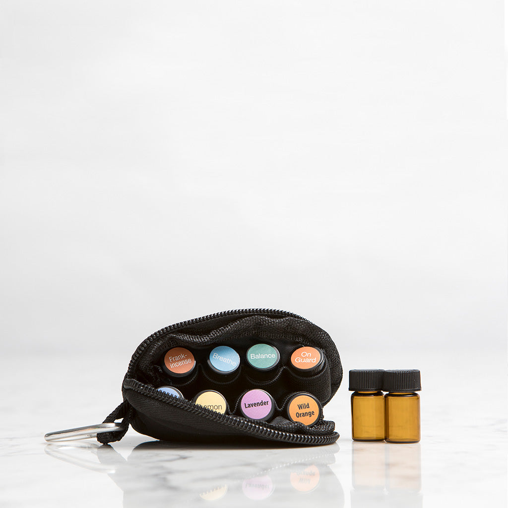 """READY FOR ANYTHING"" Essential Oils Travel Bag (Oils Included!)"