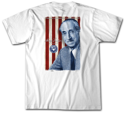 Harry Bridges Flag - ILWU T Shirt - Short Sleeve