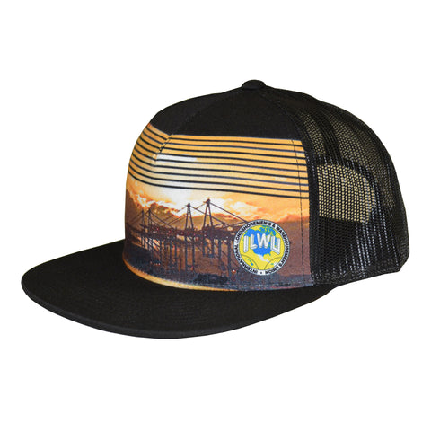 ILWU Cap - Sunset Snap