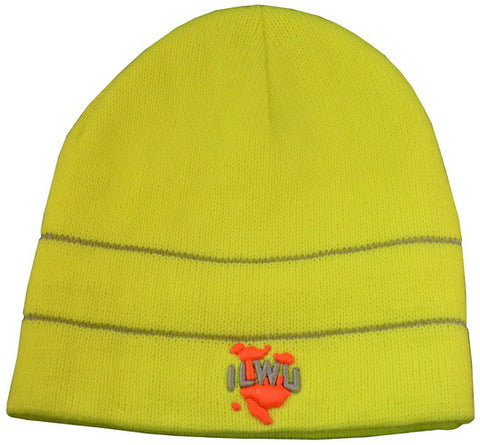 Safety Beanie Lime