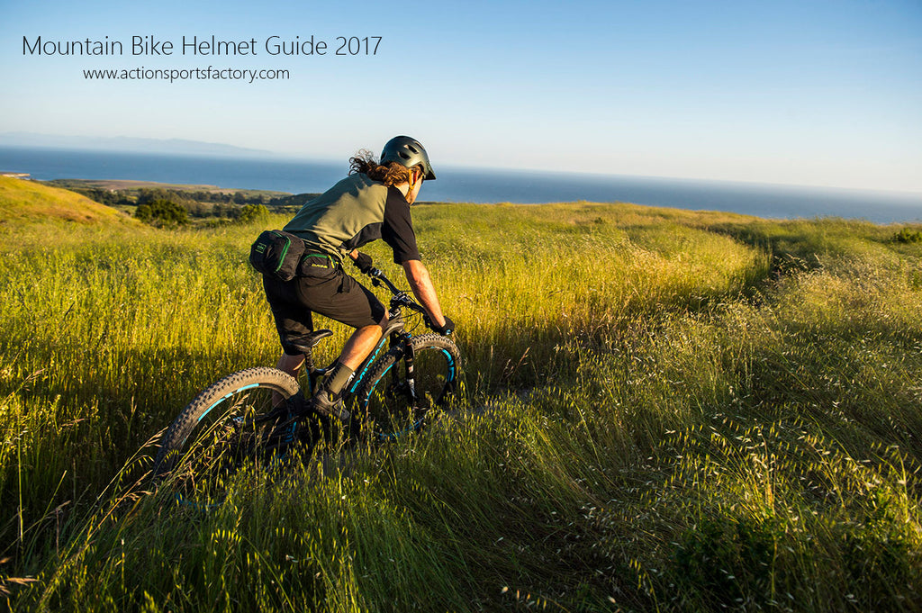 Mountain Bike Helmet Guide 2017