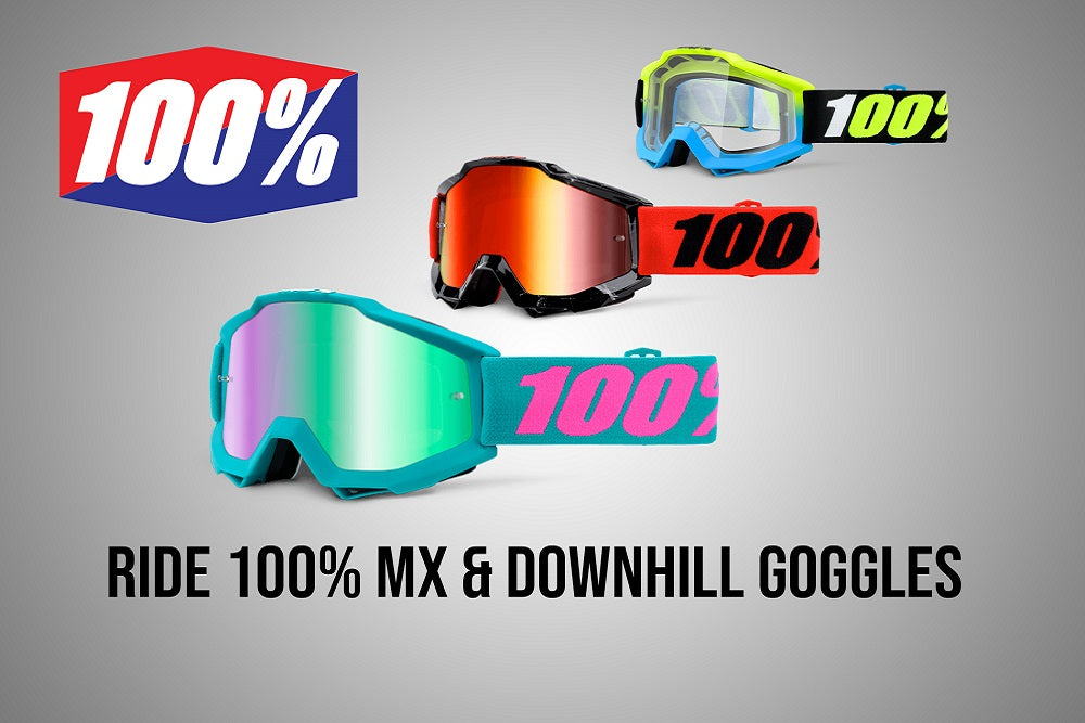 Ride 100 Percent Downhill Goggles