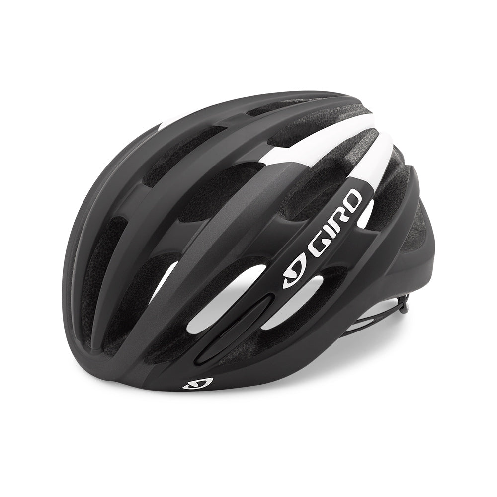 Giro Foray Road Bike Helmet - Matte Black/White