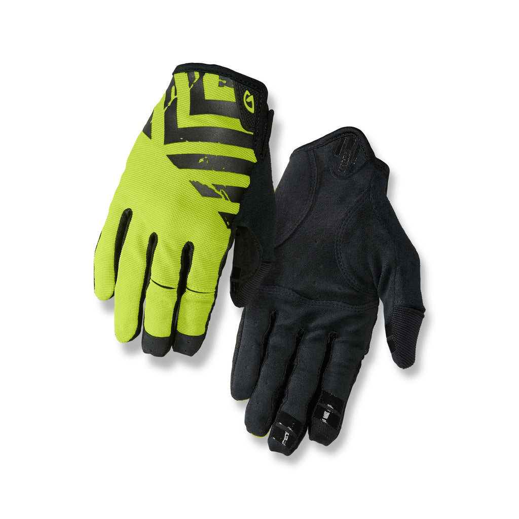 Giro DND Mountain Bike Gloves - Black/Lime